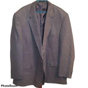 Oscar de la Renta Silk Wool Blend Blazer